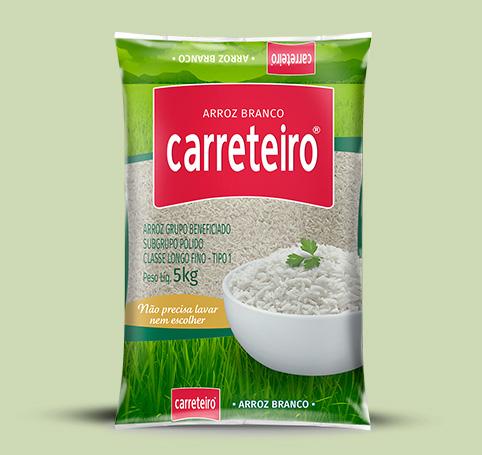 Arroz Branco Carreteiro (1kg e 5kg)